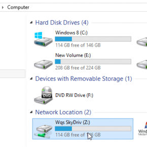 Mapper un dossier SkyDrive Comme un lecteur rseau sur Windows 8 et RT